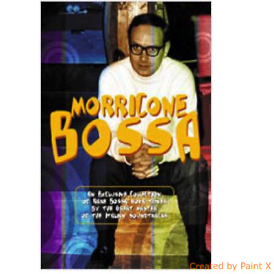 ENNIO MORRICONE-MORRICONE BOSSA-Color NEW Book 52 pages + CD