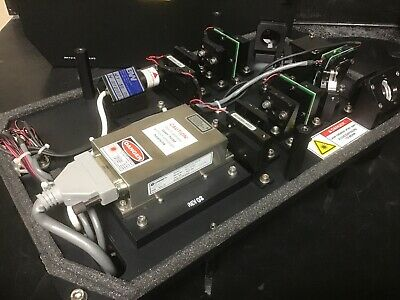Coherent Sapphire 488 - 20 Laser System: Laser, Power Supply, Mirrors