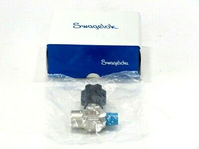 "Swagelok SS-16DKM4-F4 SS Integral Bonnet Non-Rotating Stem Valve 1/4"" NEW IN BOX"
