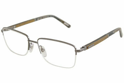 6ac9a3df1d Chopard Eyeglasses VCHB75V VCHB 75 V 568L Shiny Gunmetal Wood Optical Frame  56mm