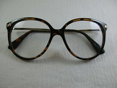 de45945e53c LARGE OVER-SIZED Trending TORTOISE Frame w  Metal Temple Reading Glasses  +1.75