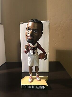 RARE Never Released Stephen Jackson Bucks Bobblehead