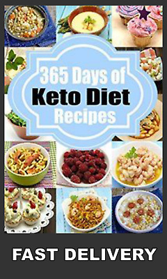 Ketogenic Diet: 365 Days of Keto, Low-Carb Recipes for Rapid Weight Loss (PDF)📕
