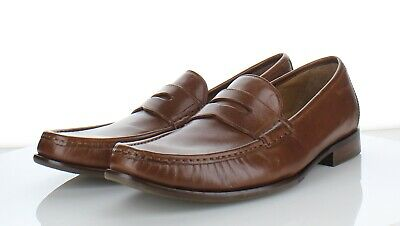 68212f81394 2649 NEW Cole Haan Aiden Grand Penny II British Tan Leather Loafer Men s Sz  10.5