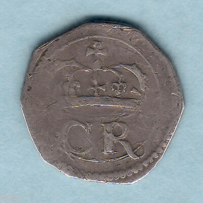 Ireland. (1643-44) Charles 1 - Ormonde Groat..  VF & RARE..