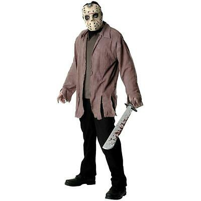 Friday the 13th Jason Costume Adult Standard