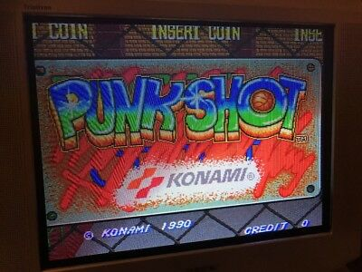 Punk Shot , Jamma Pcb Original Konami Working 100%