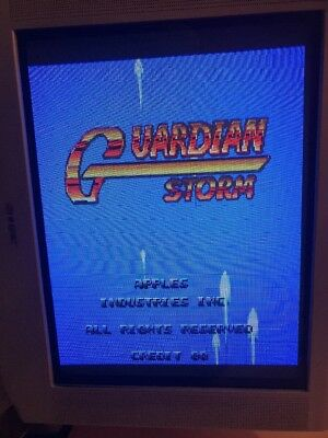 Guardian Storm . Jamma Pcb Original AFEGA   ,Working 100%