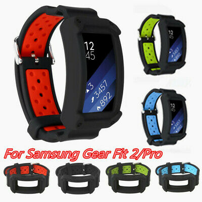 For Samsung Gear Fit 2 Fit2 Pro Replacement Wrist Band Silicone Strap Bracelet