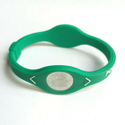 Power Energy Bracelet Sport Wristbands Balance Ion Magnetic Therapy Silicone USA