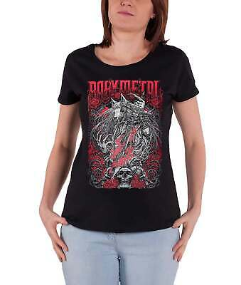 d7e1802d Babymetal T Shirt Rosewolf Band Logo new Official Womens Skinny Fit Black