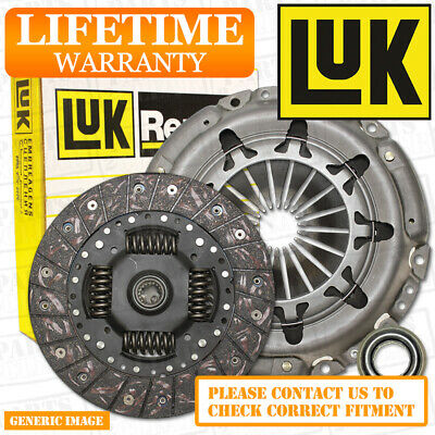 MERCEDES C200 2.0 CGI LuK 3 Piece Clutch Kit + Bearing 136 1994-2000 M111.941
