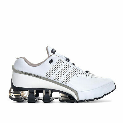Mens adidas Porsche Design Mens Porsche Design Run Bounce SL Trainers in White -