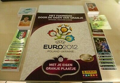 Panini Euro 2012 very Rare Dutch Issue empty album + complete set + Mint packet