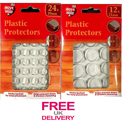K103 19mm 30L Clear Creamy Transparent 2 Hole Chunky Polyester Buttons Crafts