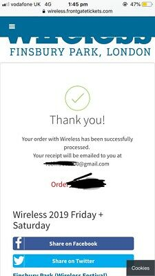 Wireless Festival Weekend Ticket 2019 (Friday-Saturday)