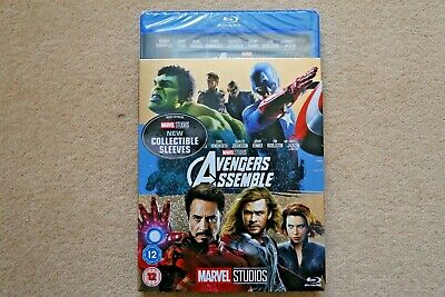 Blu-Ray Marvel Avengers Assemble  ( With Limited Edition Slipsleeve ) New