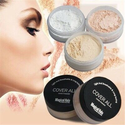 Magical Halo Set Smooth Loose Face Translucent Powder Oil Absorbing Anti Shine