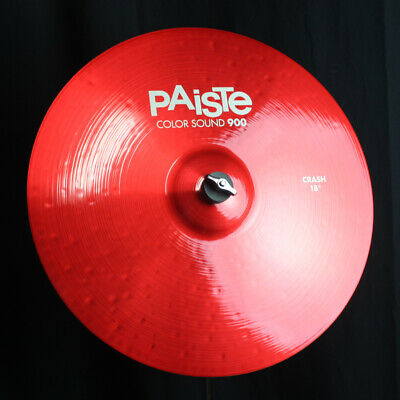 Paiste 900 Series Color Sound Red 14 Hi Hat Cymbals CY0001923714