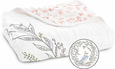 aden + anais CLASSIC DREAM BLANKET BIRDSONG NOBLE NEST Baby Bedding - New