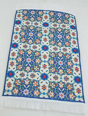 "Dollhouse Miniature 1:12th Scale Woven Turkish Rug 3 7/8"" x 5 1/2"" - #110-48"
