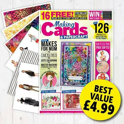 Making Cards Magazine March 2019 Fashionista & Mandalas Papers & Parchment Mag