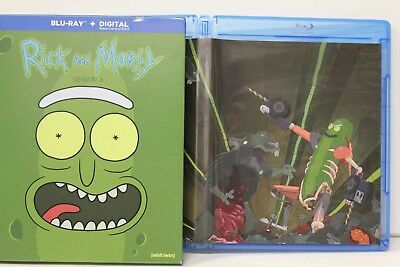 Rick And Morty: Season 3 ( Blu-Ray, 2018) FREE Shipping Harmon Roiland Animated