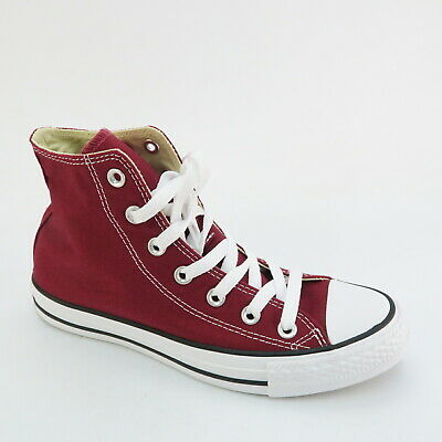 CONVERSE ALL STAR HIGH TURNSCHUHE GR. 38 UK5,5 BORDEAUX ROT
