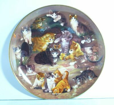 Collection Plate Seltmann Weiden Cat Rendezvous to the Finale - Certificate