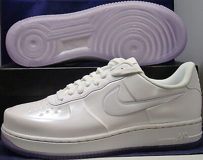 more photos 05695 6a0ae NIKE AIR FORCE 1 Foamposite Pro Cup Low White AF1 SZ 8.5 ( AJ3664-100 )