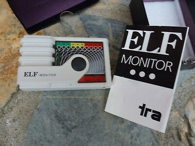 TRA ELF Extremely Low Frequency Electromagnetic Radiation Detection Monitor