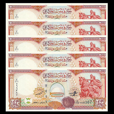 P-100e 1991 Lot 10 PCS UNC Asian-SY 5 Pounds