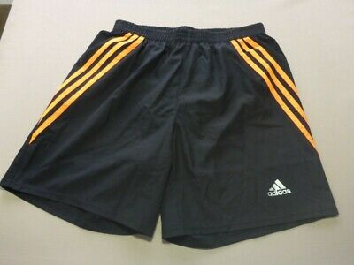 YOUTHXS MENS ADIDAS Essential Climalite 365 Black Lined
