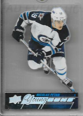 15-16 Upper Deck Young Guns Rookie Acetate #227 Nicolas Petan Rc Jets