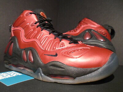 3793705f0a 2010 Nike Air Max Uptempo 97 More Tempo Cranberry Red Black 1 399207-600 New