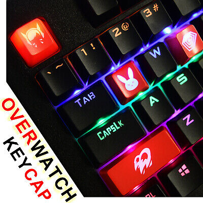 OVERWATCH HERO THEMED Keycaps for Mechanical Keyboards (All Heroes