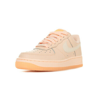 Chaussures Baskets Cuir 1 Air Force 07 Lacets Rose Nike Taille Femme Nk0PwnZO8X