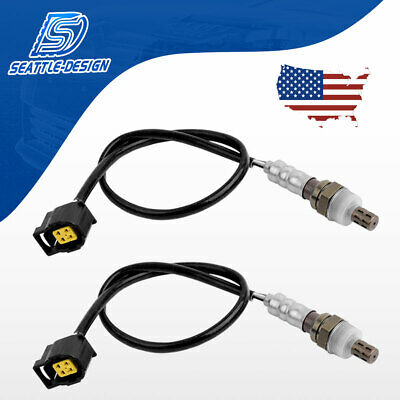 2Pcs Front /& Rear Oxygen Sensor For 96-20 Dodge Caravan Plymouth 3.0L 3.3L 3.8L