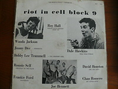 Riot In Cell Block 9 Rocket 88 Rare Aus. Pressing Lp Estate Record Collection