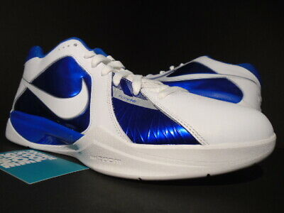 6a848851df5d 2011 Nike Zoom Kevin Durant Kd Iii 3 White Royal Blue Silver 417279-100 New