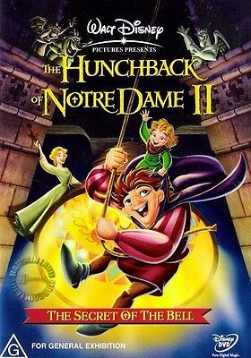 THE HUNCHBACK OF NOTRE DAME II 2 : NEW Disney DVD