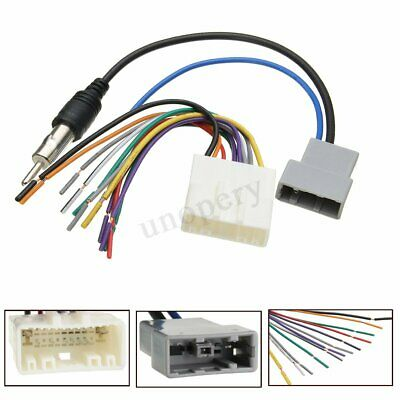 16CM WIRE HARNESS Plug Cable w/ 16-pin for Kenwood Car ... Kenwood Nissan Wiring Harness on