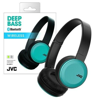 JVC Folding Wireless Bluetooth Headphones with Handsfree Microphone HA-S30BT-A-E