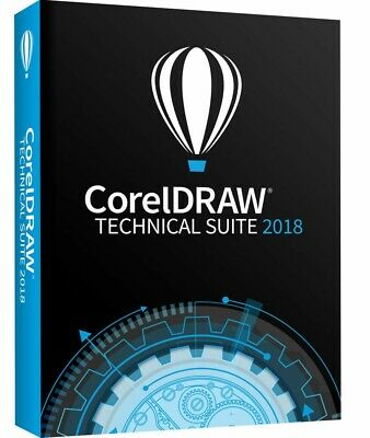 CorelDRAW Technical suite 2018 Legal LifetimeLicenses Key official download