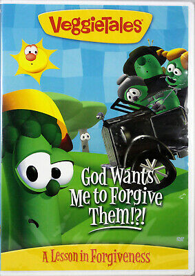 VeggieTales God Wants Me To Forgive Them? NEW DVD A Lesson In Forgiveness