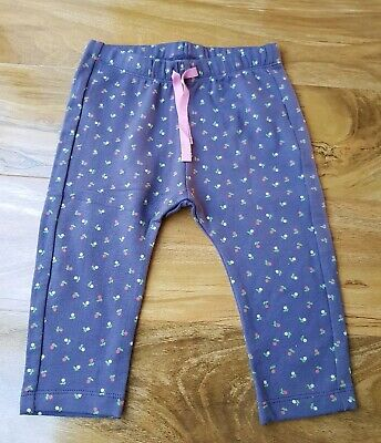 Mini Boden Baby Girls Cosy Cotton Essential Jersey Trousers Brand New