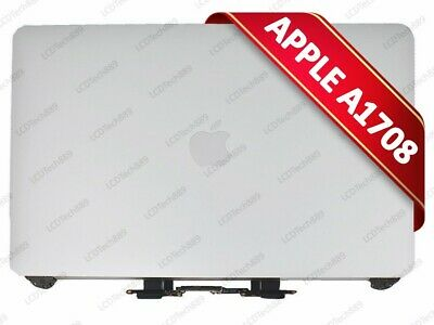 """Apple Macbook Pro 13"""" A1706 A1708 2016 2017 Silver LCD Display Screen Assembly"""