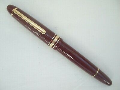 MONTBLANC Meisterstuck 146R LeGrand Fountain Pen - Burgundy G.T.