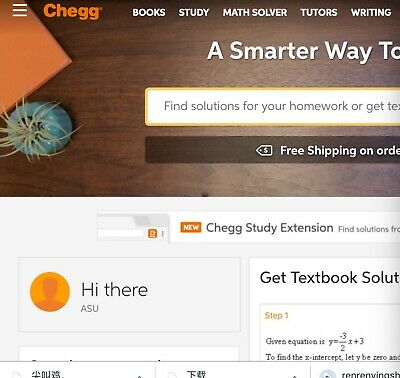 Chegg answer for 0.39$ Only! Simply make offer 0.39$ to me!
