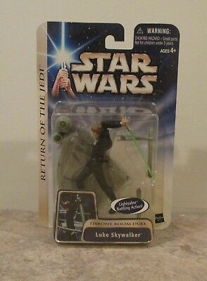 "Box 126 Star Wars Return of the Jedi /""Luke Skywalker /"" Throne Room Duel NIP"